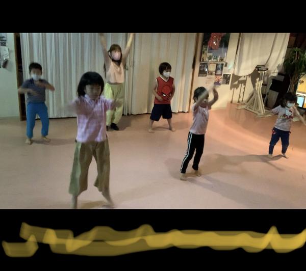 3歳からの キッズダンス クラスは 元気一杯! 始めての習い事 初心者 中野区 野方 ダンス バレエ