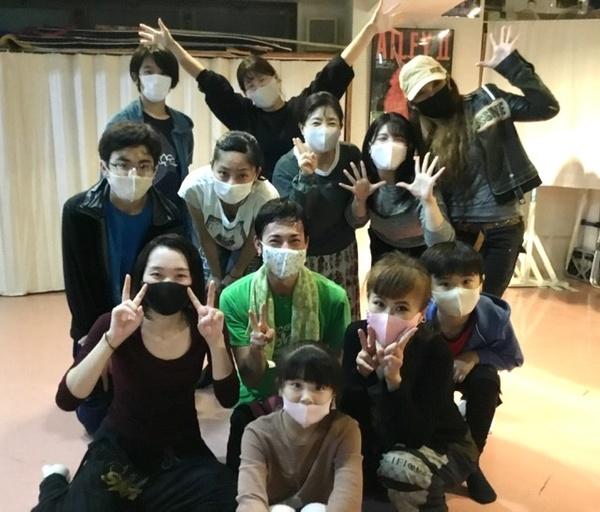Mika先生 久々のスタジオに!バレエクラス 中野区 野方 スタジオダンスムーヴ