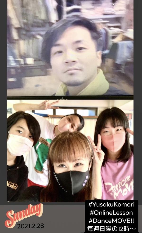 早くも3月ですね!#小森悠冊 #オンラインクラス 振付ヤバいよ #中野区のダンススクール